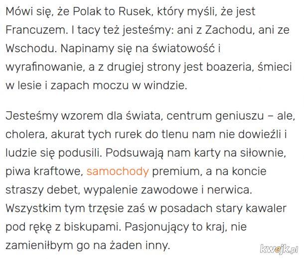 Oto istota polskości