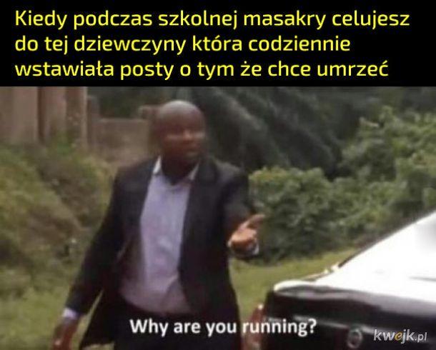 Dlaczego uciekasz