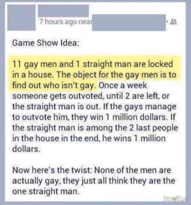 Pomysł na reality show.