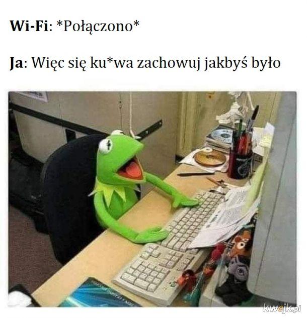 Powolne Wi-Fi