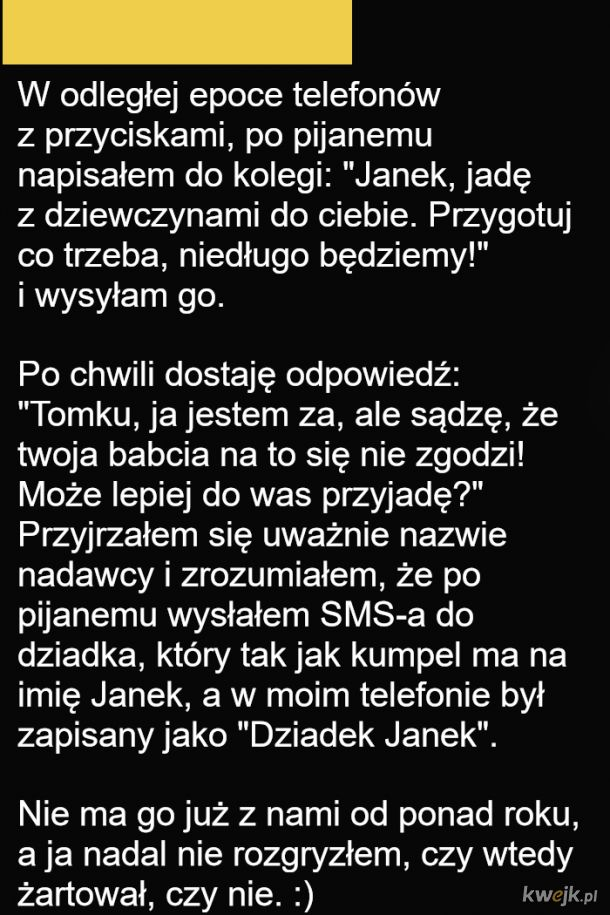 Żartowniś Janek