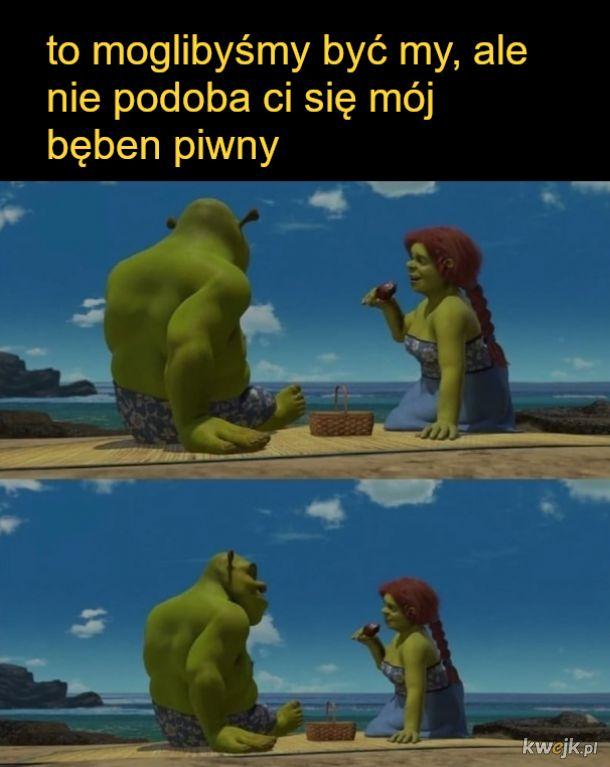 Shrek i Fiona