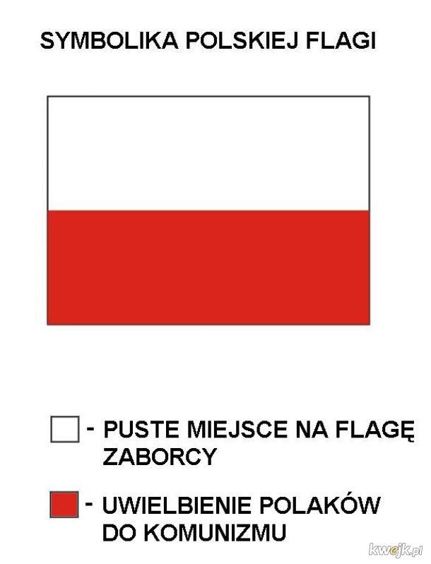 Symbolika polskiej flagi