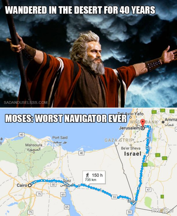 Mojżesz nie miał apki
