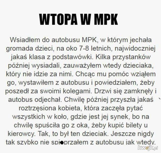 Wtopa w MPK