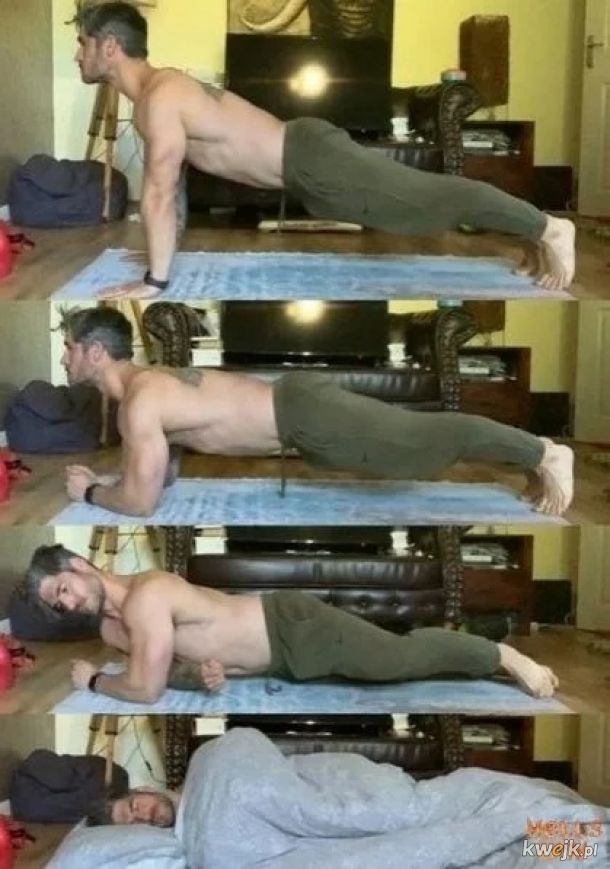 Taki program treningowy