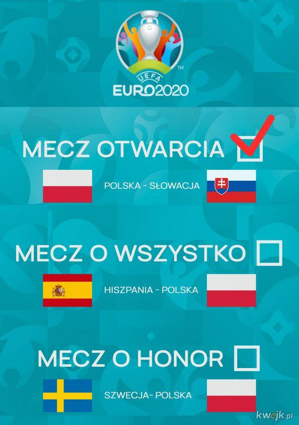 Polacy realizują strategię na Euro 2020