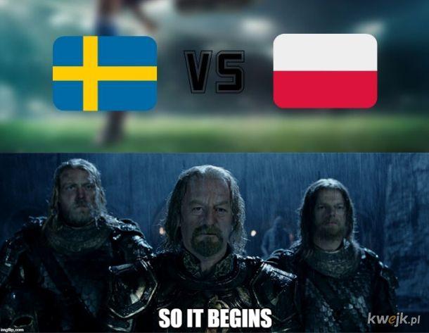 Polska VS Szwecja 2021