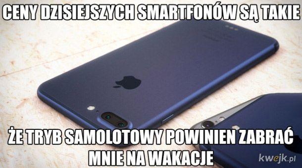 Dzisiejsze smartfony
