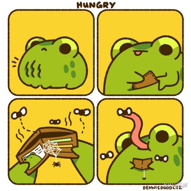 Kiedy głód doskwiera a hajsu brak: