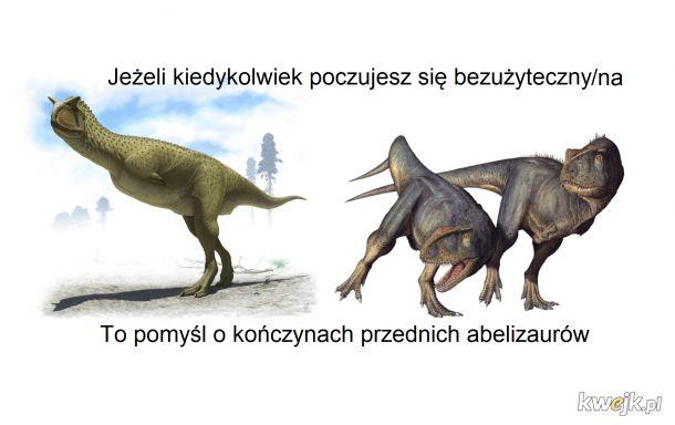 Nawet t.rex miał pożytek ze swoich