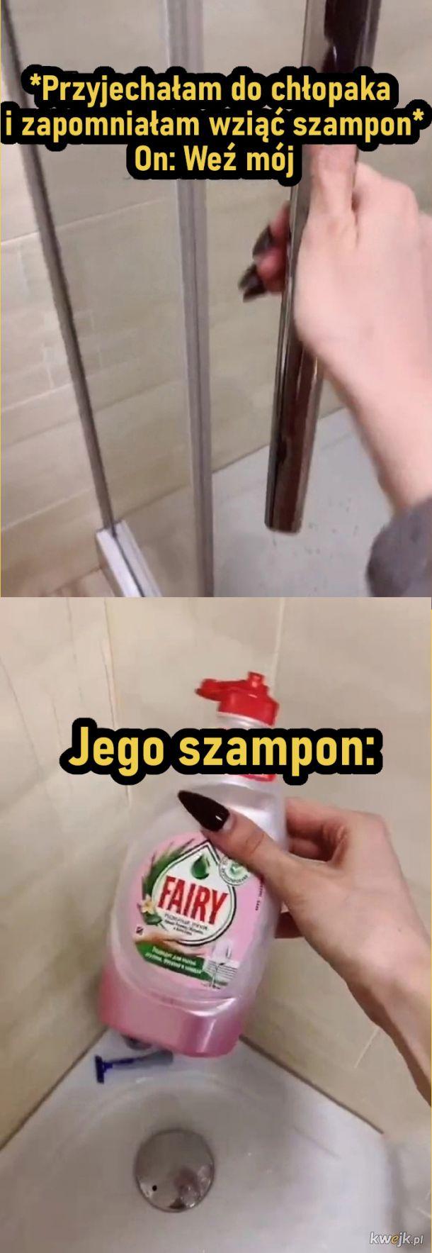 Męski szampon