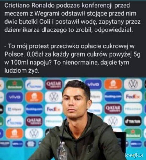 Protest Ronaldo