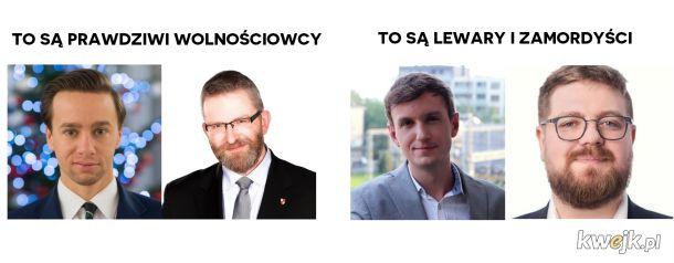 Znajcie różnice, lewary!