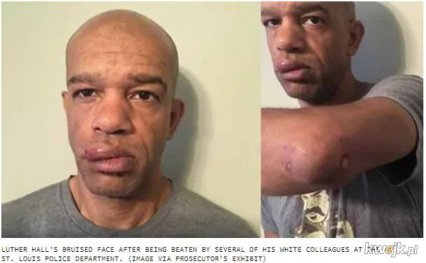 Policyjny tajniak pobity przez wlasnych kolegow policjantow podczas inwigilowania protestow BLM