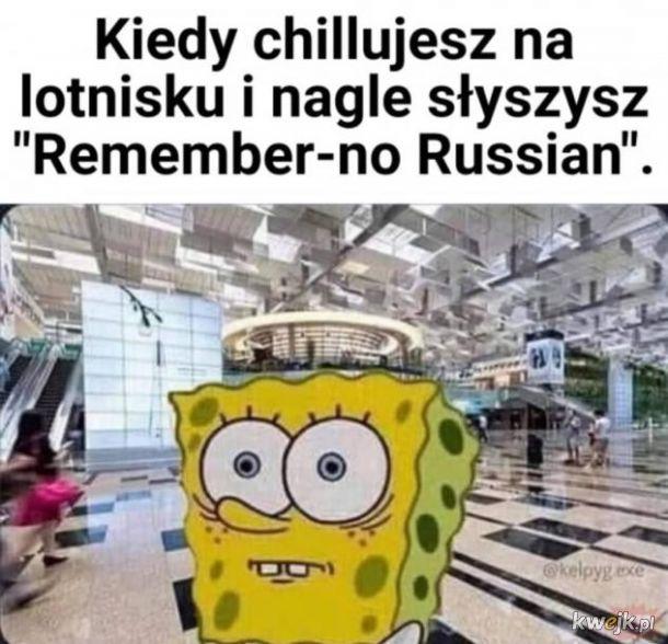 nie pamiętam rosyjskiego