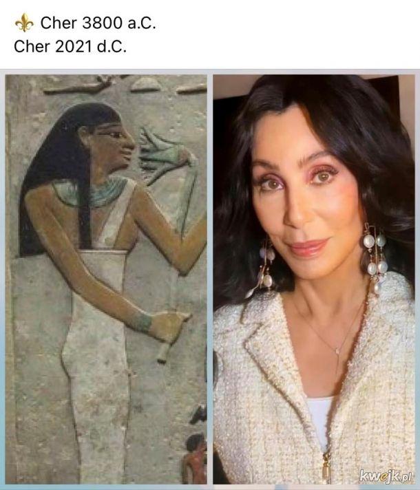 Cher na przestrzeni dziejów