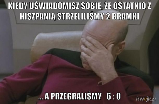 Bójmy się Polaków, nie Hiszpanów.