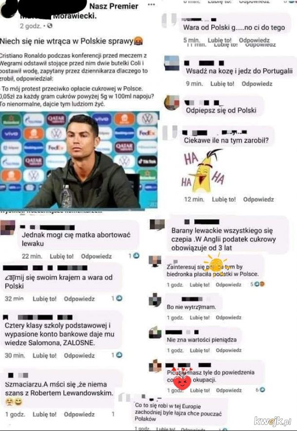 Ah ten Ronaldo
