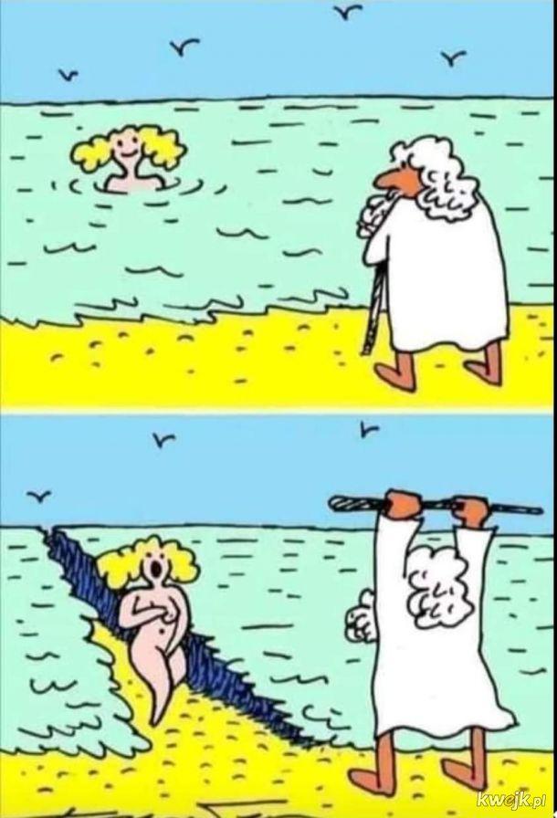 mojżesz nad morzem