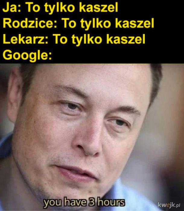 Objawy nas google