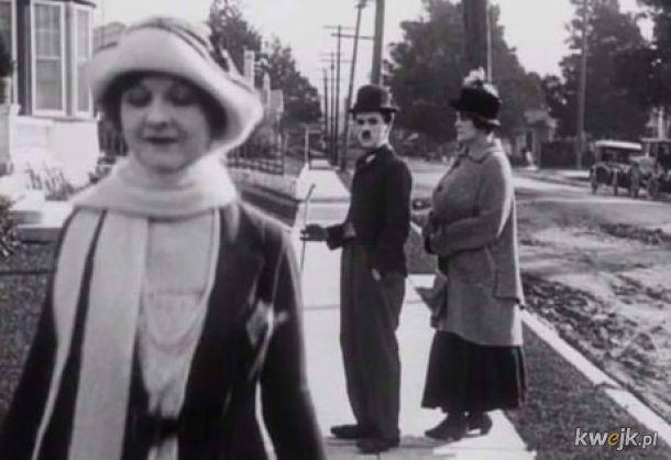 Chaplin był pierwszy.