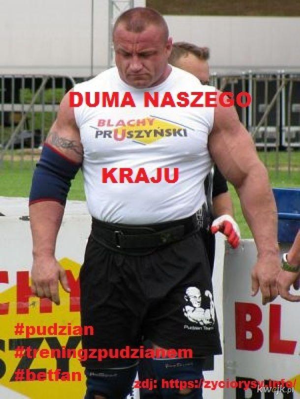 MARIUSZ PUDZIANOWSKI - DUMA NASZEGO KRAJU !!! #POLSKA GUUUROM