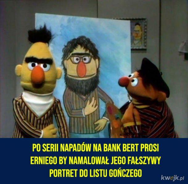 Czarny humor z Ulicy Sezamkowej