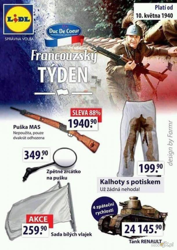 Tydzień francuski w Lidlu