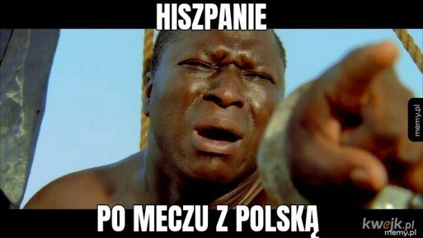 Polska Hiszpania euro 2020