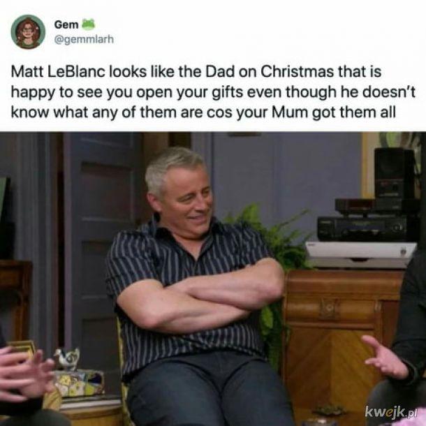 Matt postarzał się dobrze.