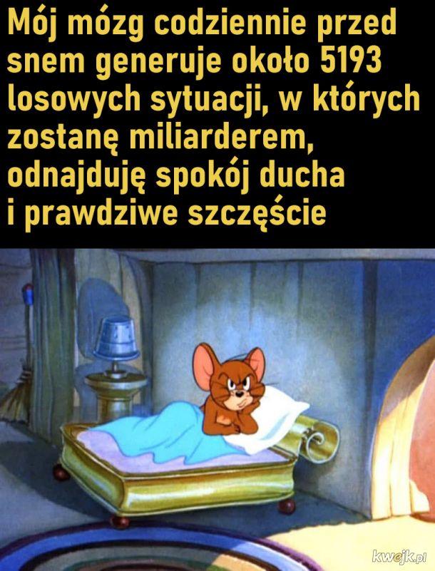 Fantazjowanie przed snem