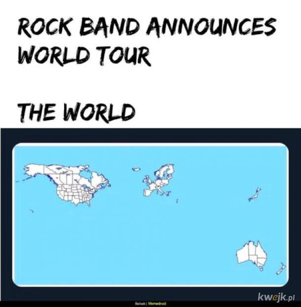 Światowa trasa koncertowa.