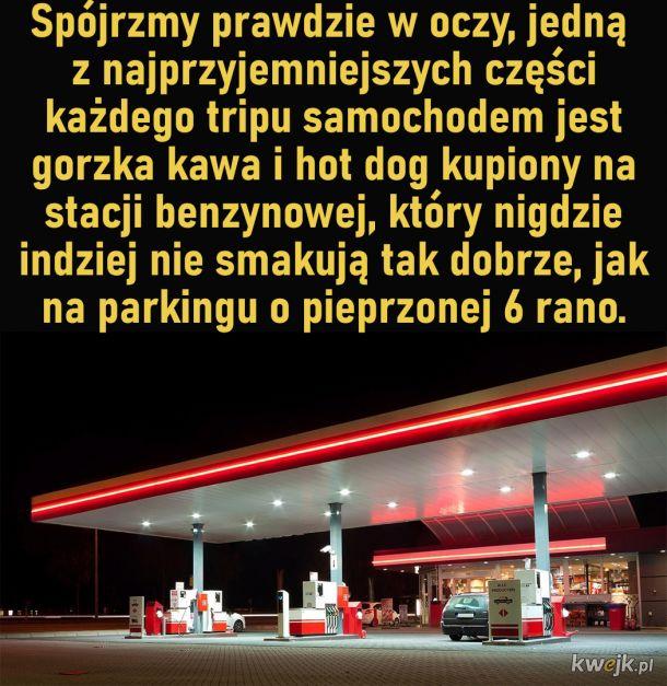 Hot dogi ze stacji benzynowej
