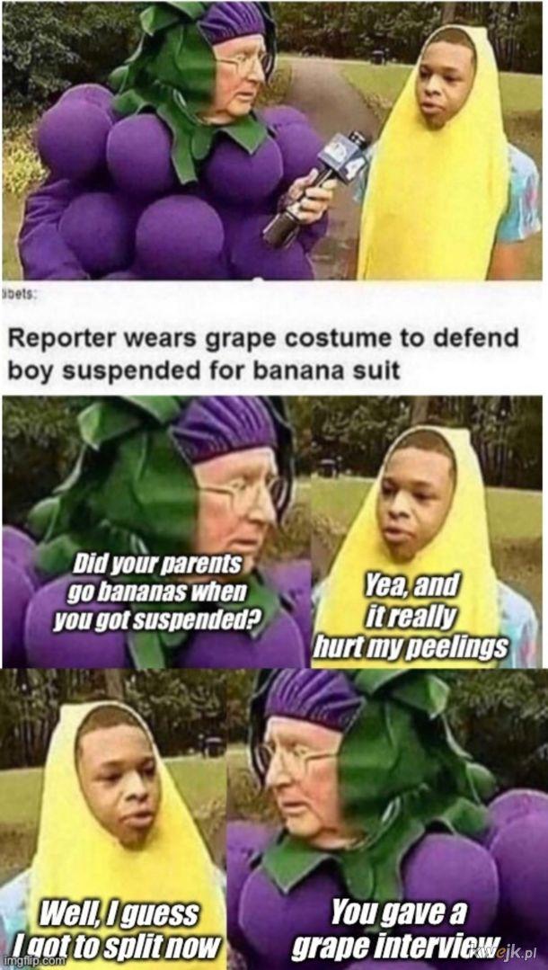 A grape interview.