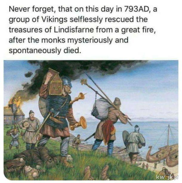 Altruiści z tych wikingów.