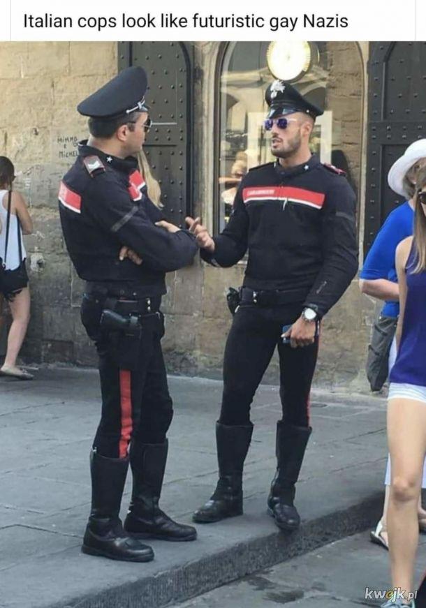 Włoska Policja.