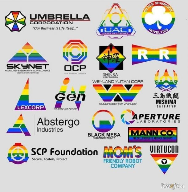Jak to dobrze, że są korporacje wspierające LGBTQ+!