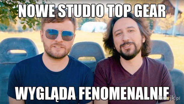 Nowe studio Top Gear
