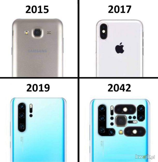 Ewolucja aparatu w telefonie