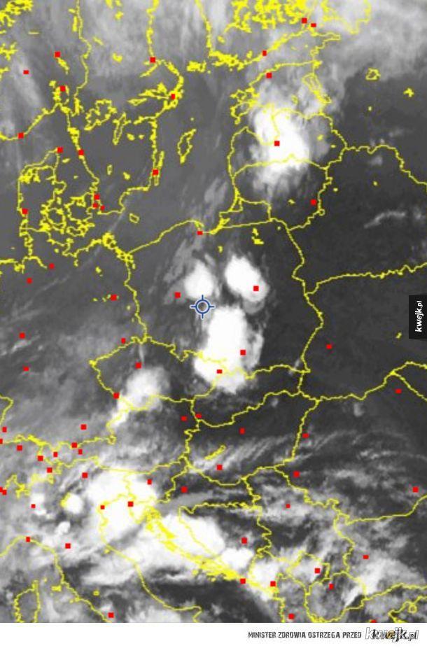 Straszne chmury nad Polską