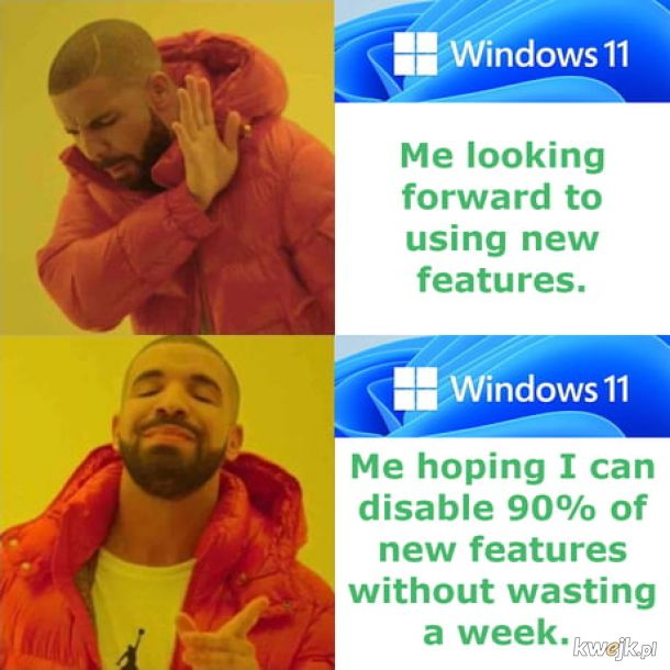 Co drugi windows dobry.