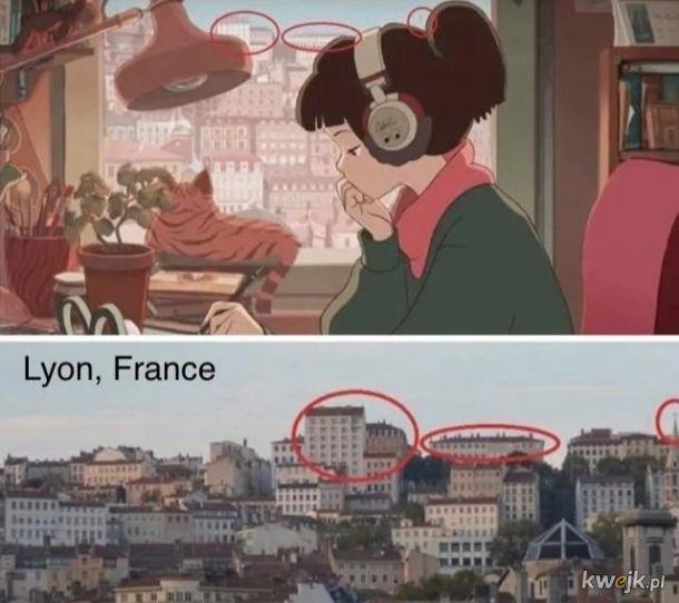 Czyli te budynki mają pokrycie z rzeczywistością