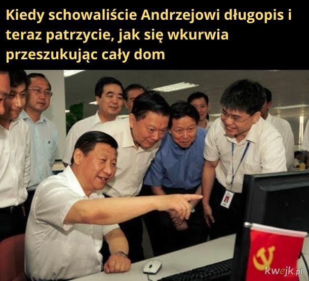 Chiński monitoring w domu Dudy