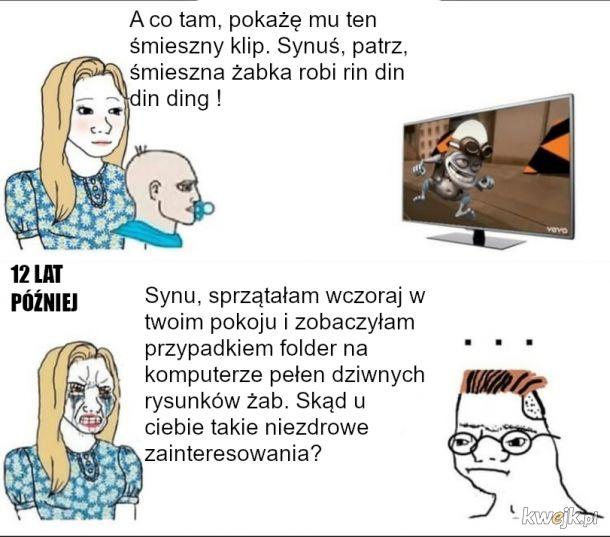Crazy Frog - dawne fazy w TV