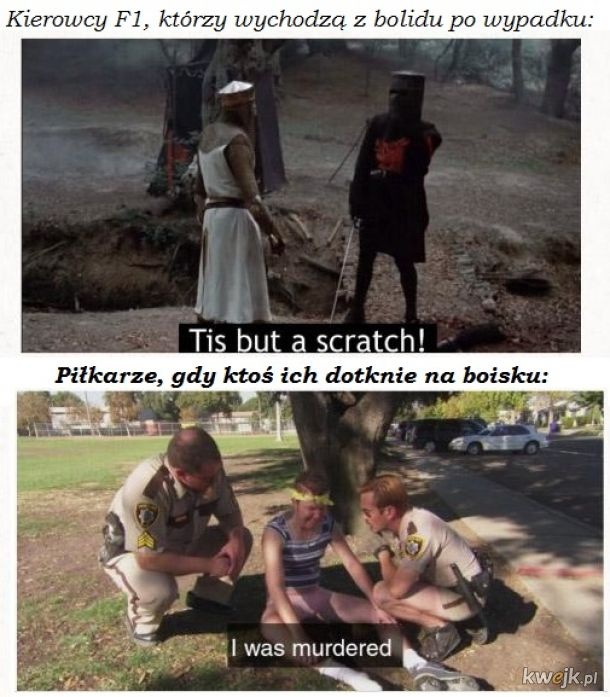 Taki trochę english-polski mem