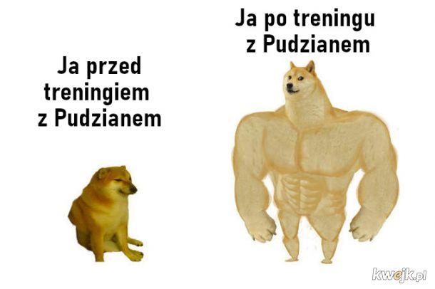Trening z Pudzianem