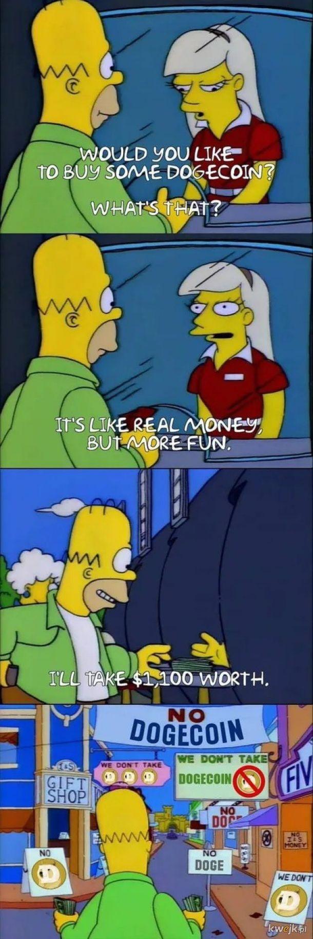 Dogecoin - to jak pieniądz ale zabawniejszy.