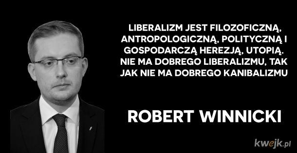 Robert Winnicki wyjaśnił liberalizm gospodarczy Konfuni