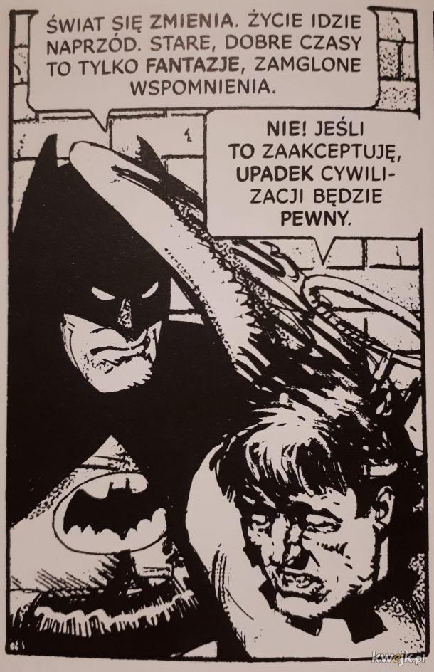 Batman postępowiec kontra polska prawica